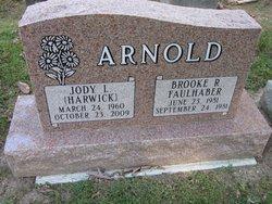 Jody L. <i>Harwick</i> Arnold