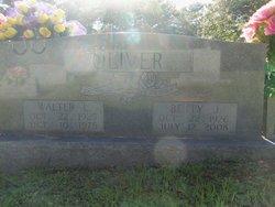Walter L Oliver