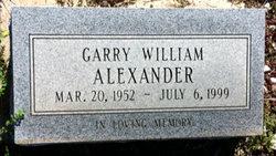 Garry William Alexander