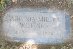 Virginia <i>Miller</i> Willings