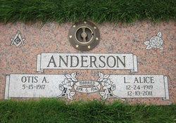 Alice <i>Greene</i> Anderson
