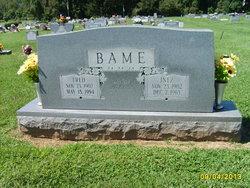 Frederick Fred Bame