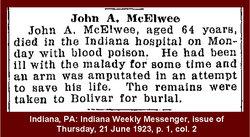 John Alfred McElwee