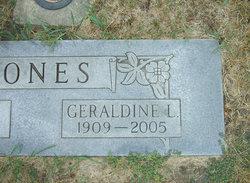 Geraldine L Jones