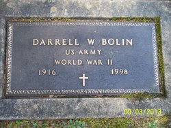 Darrell William Bolin