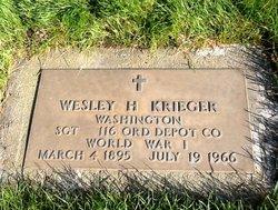 Wesley Harvey Krieger