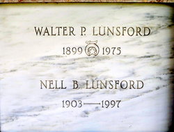 Eleanor Broderick Nell <i>Mott</i> Lunsford