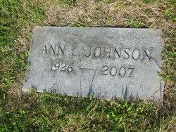 Ann L. <i>Johnson</i> Johnson