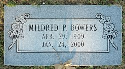 Mildred P Bowers