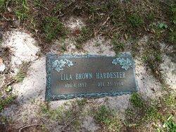 Lila Lucinda <i>Brown</i> Hardester