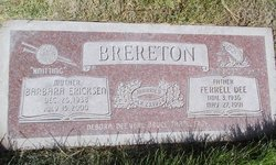 Barbara <i>Ericksen</i> Brereton
