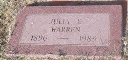 Julia E. <i>Hann</i> Warren