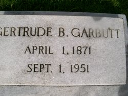Gertrude B. Garbutt