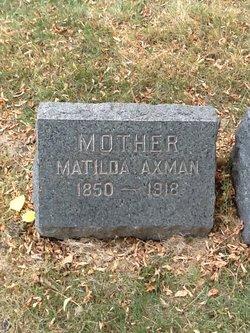 Matilda <i>Jacoby</i> Axman