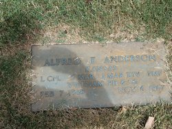 LCpl Alfred Earl Anderson
