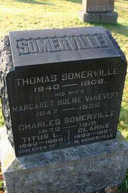 Margaret Holme <i>Vanevery</i> Somerville
