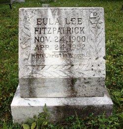 Eula Lee <i>VanHoose</i> Fitzpatrick