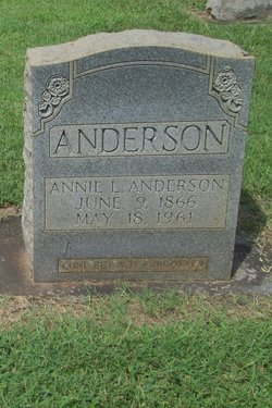 Annie Ludemia <i>Chambers</i> Anderson