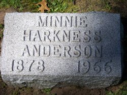 Minnie Harkness <i>Nicholson</i> Anderson
