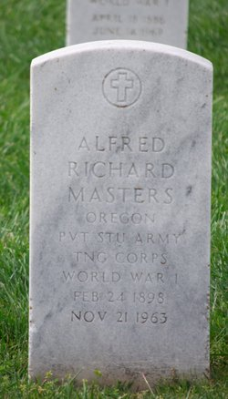Alfred Richard Masters