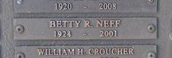 Betty Rae <i>Heins</i> Neff