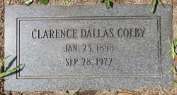 Clarence Dallas Colby