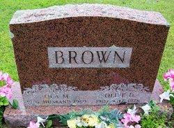 Olive May <i>Dumas</i> Brown