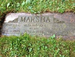 Harold Elmer Marsha