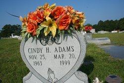 Cindy <i>Holton</i> Adams