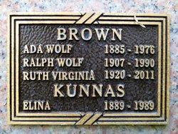 Ada Wolf Brown