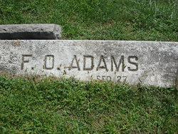Frederick O Adams