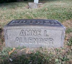 Amne I. <i>Rohrer</i> Allender