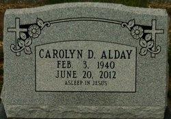 Carolyn <i>Tate</i> Alday