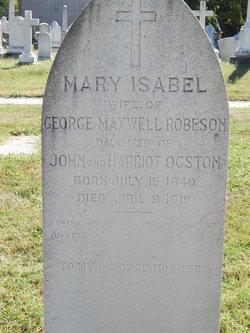 Mary Isabelle <i>Ogston</i> Robeson