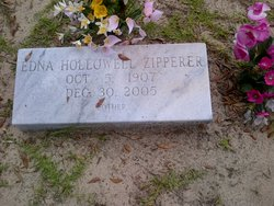 Edna <i>Hollowell</i> Zipperer