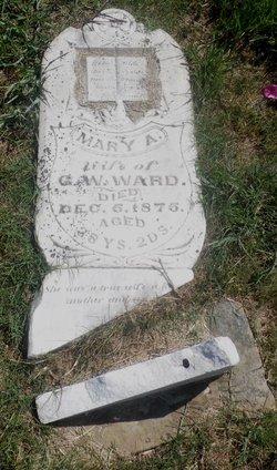 Mary A. <i>Townsend</i> Ward