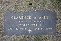 Clarence A Akre