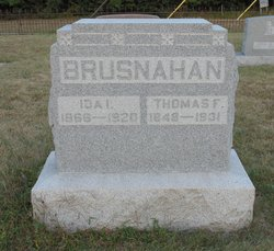 Ida Isabel <i>Rutherford</i> Brusnahan