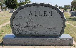 Forrest Ray Stub Allen