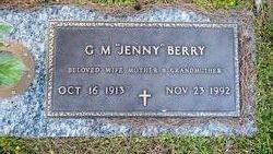 R Gertrude Jenny <i>Merrell</i> Berry