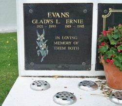 Gladys Lilian <i>Johnson</i> Evans