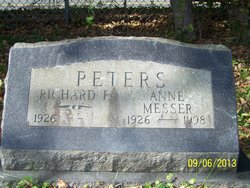 Anne <i>Messer</i> Peters