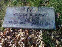 William Ridgway