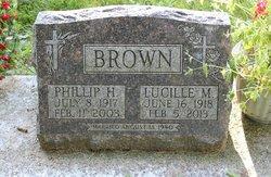 Lucille M. <i>Deininger</i> Brown