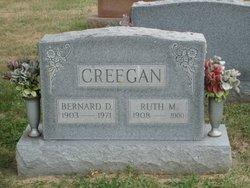 Bernard D Creegan