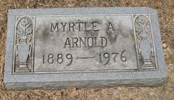 Myrtle Annie <i>Burrier</i> Arnold