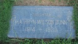Kathryn <i>Wilson</i> Dunn