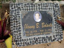 Jhonny B. Bolante