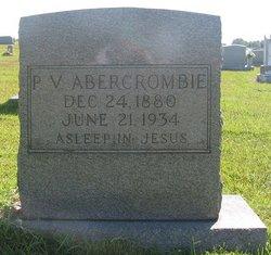 P V Abercrombie