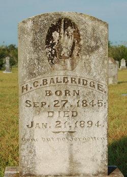 H. C. Baldridge